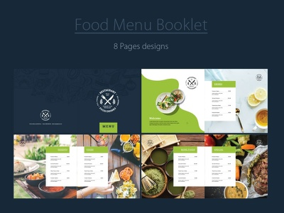 Food Menu Booklet price book price list design inspiration brochure booklet menu restaurant food menu