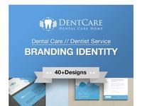 Dental Care Corporate Business Branding Identity