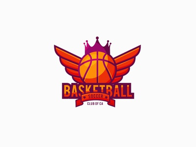 Basketball Sports and Games Logo football ball logo inspiration games games logo sports logo basketball club club logo