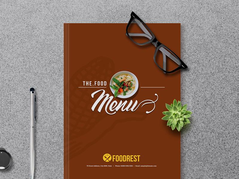 Food Menu Booklet pricing menu food gallery menu menu brochure menu design restaurant booklet food menu