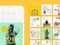 Social Media Posting/Booster Kit for Instagram social ui social marketing social banners instagram banners instagram banners booster kit posting social media social