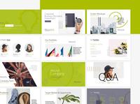 Business Plan Pitch Deck PowerPoint powerpoint design inspiration powerpoint design green presentation startup plan pitch deck business plan