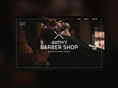 Barber Shop UI