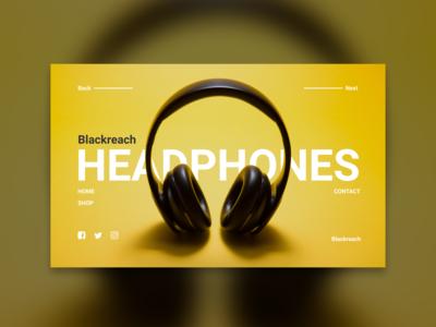 Headphones UI