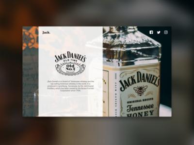 Jack Daniels UI