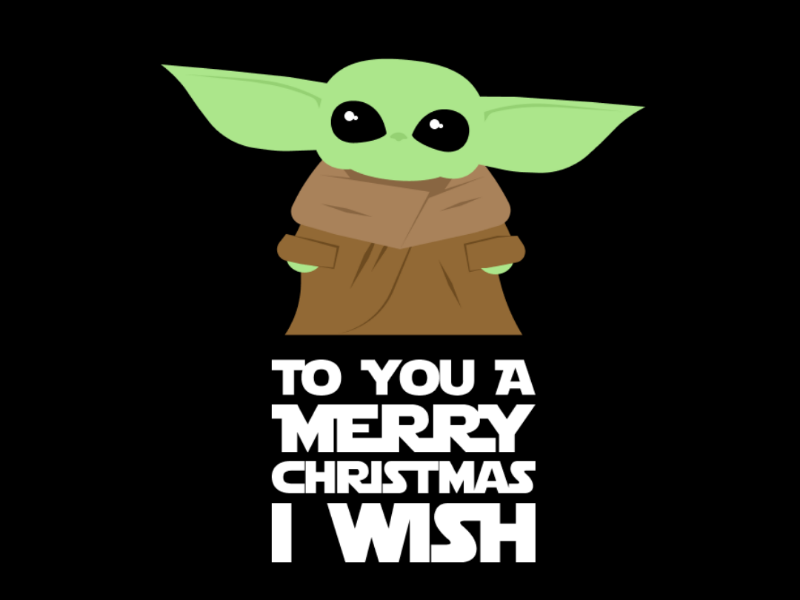 Baby Yoda Vector