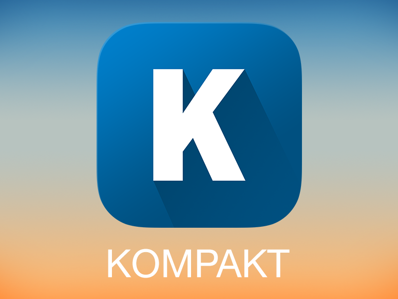 App Icon – Kompakt icon kompakt news iphone welt.de