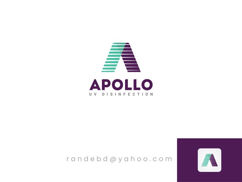 """Apollo"" logo Design web logo vector logo 2020 brand identity new logo creative icon flat minimal logo"