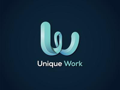 Unique Work logo