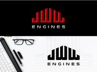 """JWW engines"" logo"