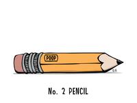No. 2 Pencil