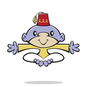 Dribbble monkey