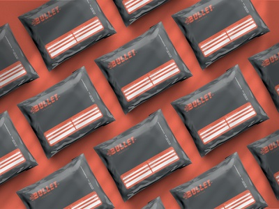 BULLET LOGISTICS packaging packagedesign stationery design logo branding