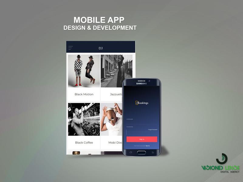 Booking Mobile App by Vision Lense Digital Agency | Dribbble | Dribbble