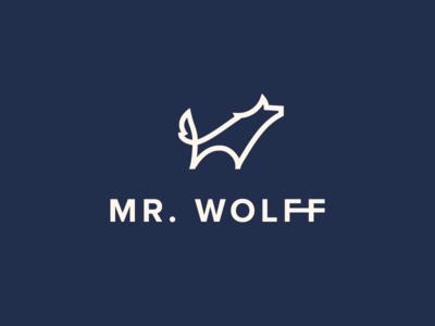 Mr.Wolff Brand Identity