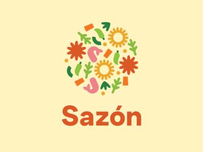Sazón Latin ERG logo