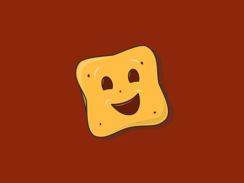 Choco BN Biscuit Illustration poster card design 2d art graphic design chocolate biscuit snack biscuits choco bn vectorart adobe illustrator vector art vector illustration side project instagram flat design design illustration