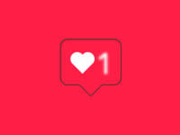 Instagram Likes Notification - Pure CSS illustration & animation