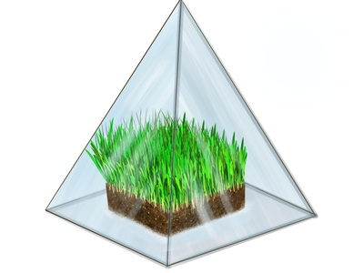 Glasspyramid
