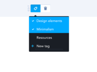 Tag interaction