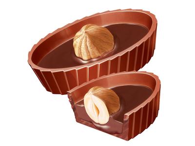 Chocolate boats