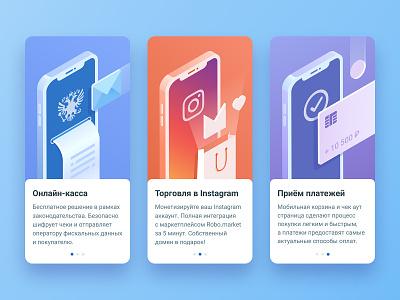Slides app ux ui phone payment illustration mobile design slides slide