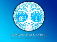 """Simone Says Love"" Logo"