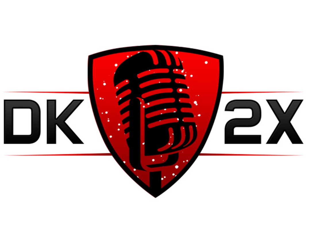 DK 2 Times Logo animation icon typography clean website brand photoshop identity art illustrator illustration design branding logo design logotype host promoter mc vector logo