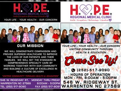 Hope Medical Flyers 2