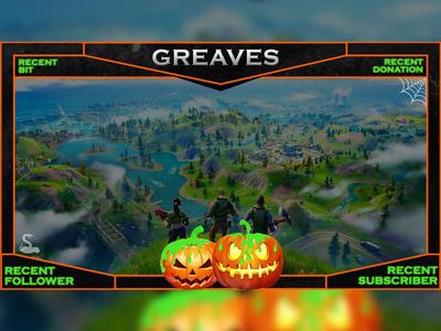 Fortnite Halloween Overlay