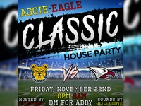 """""""Aggie-Eagle Classic"""" Flyer"""