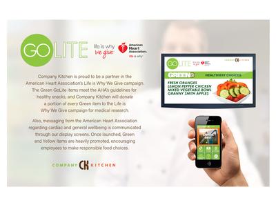 GoLite Healthy Eating Program Partner Page