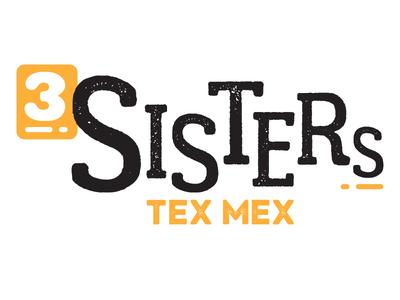 3 Sisters Tex Mex Logo