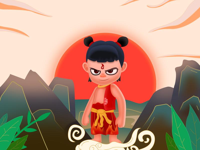 Ne zha - 08/08/2019 at 08:02 AM illustrator