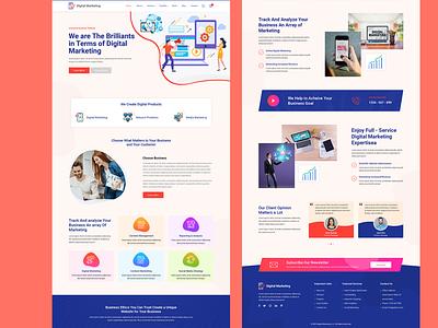Digital Marketing ux website web design graphic design