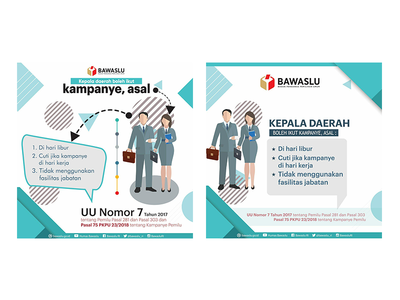 BAWASLU poster campaign