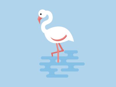 Flamenco miguelcm illustration flamenco flamingo animal flat