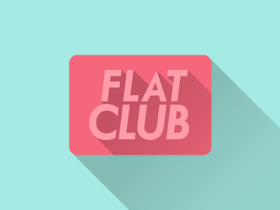 Flat Club miguelcm illustration flat flat club