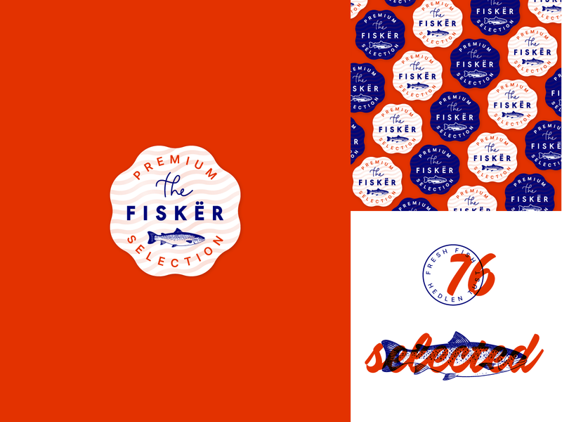 Fisker stamp branding label lettering engraving stamp miguelcm