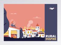 Rural Inspire Postcard