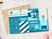 Zeus Happy Holidays Card