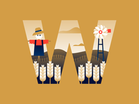 W | wheat