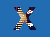 X | xylophone