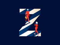 Z | zebra crossing