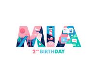 Mia 2nd birthday attach x miguelcm