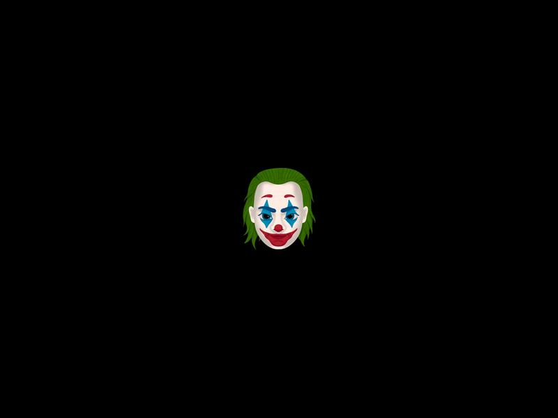Joker emoji halloween scary face emoji joker procreate dribbbleweeklywarmup illustration miguelcm