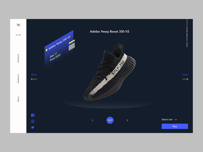 E-Commerce Shop yeezy adidas