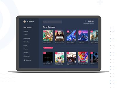 TV App tvapp ui design