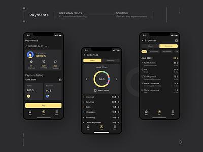 Payments schedule payments ios app uiux redesign concept telecom