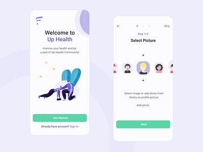 Health app medical app app design ui